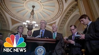 Mitch McConnell Convinced Government Shutdown Won't Happen | NBC News