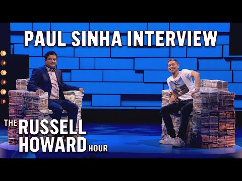 Paul Sinha On Love, Quizzing & Living with Parkinson's |  Full Interview | The Russell Howard Hour