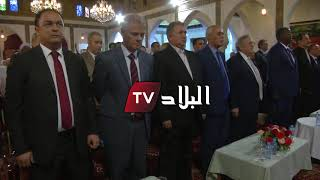 مهزلة وقعت مع النشيد الوطني الجزائري، ووزير السياحة يستمع إليه كاملا ...