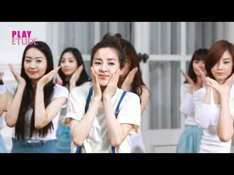 SHINee and 2NE1 Dara ETUDE CF Making Film