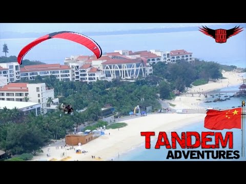 TANDEM Revolver Paramotor Adventures On The Coast of China!