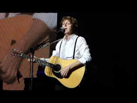 Paul McCartney - I Will - Montreal - 7-26-11.MP4