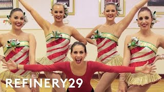 I Trained Like A Radio City Rockette | Lucie For Hire | Refinery29
