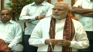 Shri Narendra Modi addressing Gujarat Assembly before resignation