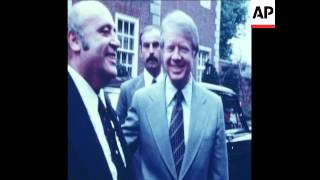 SYND 10 5 77 GREEK, TURKISH AND BELGIAN LEADERS MEET CARTER IN LONDON