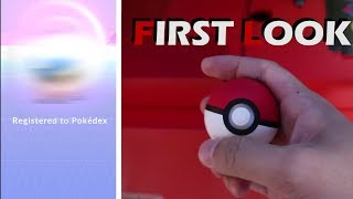 QUICK FIRST LOOK AT THE NEW POKEBALL PLUS!! HATCHED MY LAST REGIONAL POKEMON!