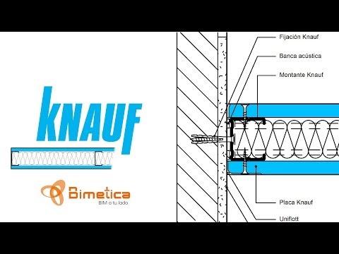 Revit Arquitectura: Detalles de sistemas Knauf - Tutorial | Bimetica.com