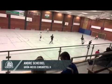 Tor von Andre Scheibel (Grün-Weiß Eimsbüttel II) | ELBKICK.TV