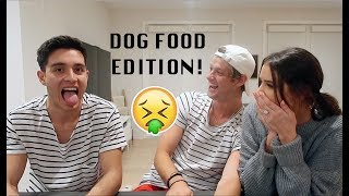 Guess The Popular Song! w/ Jess & Gabriel Conte (dog food edition)