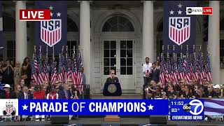 WATCH LIVE - Women's World Cup 2019: US National team championship parade in NYC   ABC News