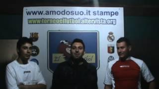 TORNEO EL FùTBOL intervista ai migliori in campo Barca-Real
