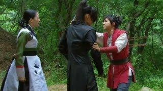 [HOT] 구가의 서 21회 - 월령(최진혁) 구하고 화살 대신 맞은 강치(이승기) 20130617