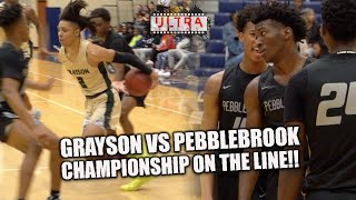 Grayson vs Pebblebrook NEEDS OVERTIME IN CHAMPIONSHIP GAME!! | FULL GAME HIGHLIGHTS