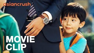 Kissing your enemy to cure your kid's daddy issues | Clip from 'Love' starring Mark Chao