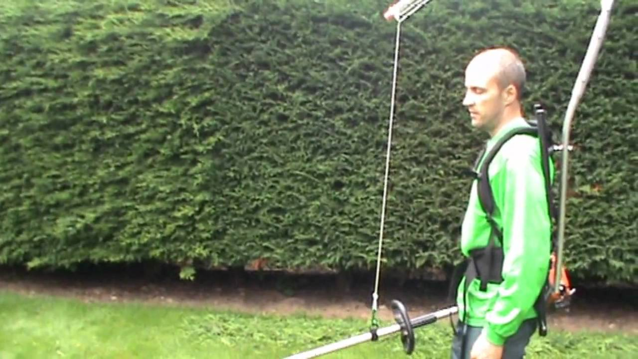 Easy Lift Harness With A Hedge Trimmer Uk Youtube