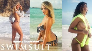 Kate Upton, Danielle and Genie Bouchard Reveal All | UNCOVERED | Sports Illustrated Swimsuit