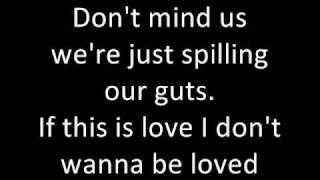 Get Scared - Sarcasm, Lyrics in the vid