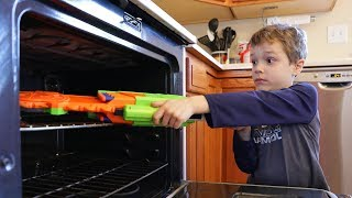 Nerf War :  Hide Your Blaster (Twin Toys)