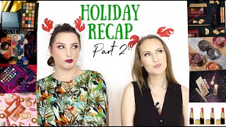 Holiday 2019 Makeup Release Recap Part 2   BEAUTY NEWS