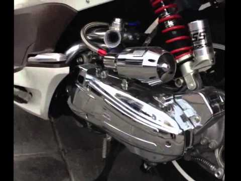 2011 2012 honda pcx 125 cc scooter turbo youtube. Black Bedroom Furniture Sets. Home Design Ideas