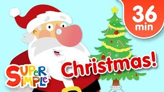 Our Favorite Christmas Songs for Kids | Super Simple Songs - YouTube