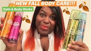 NEW FALL TRADITIONS BODY CARE COLLECTION | Bath & Body Works