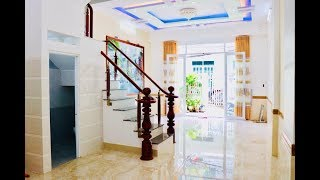 Nhà bán Gò Vấp l 5 x 12m chính chủ 3 lầu thiết kế đẹp và phong cách Lê Đức Thọ. Gía sốc 3.8 tỷ