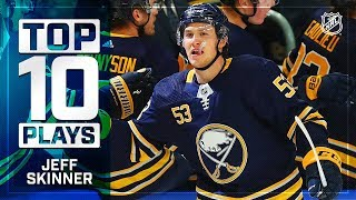 Top 10 Jeff Skinner plays from 2018-19