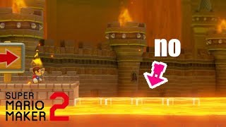 I played people's VERY FIRST LEVELS and it turned into a nightmare [Super Mario Maker 2]