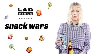 I, Tonya's' Margot Robbie Eating British And Australian Snacks, Talks Being James Bond