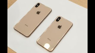 نظرة على الهاتفين iPhone XS و XS Max     -