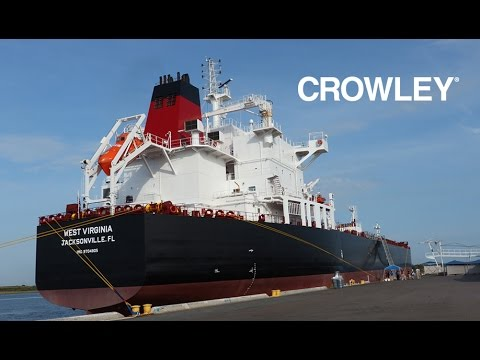 Tour of Crowley's new LNG-Ready tanker West Virginia