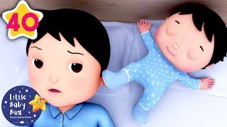 Rock-a-Bye Baby V2 | +More Nursery Rhymes & Kids Songs | Little Baby Bum