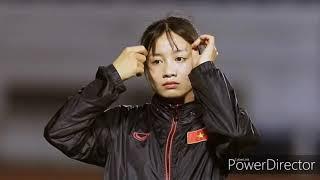 Những hình ảnh đẹp của Hoàng Thị Loan hot girl đội tuyển nữ Việt Nam