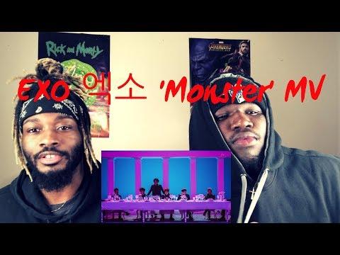 EXO 엑소 'Monster' MV (REACTION)