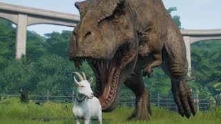 THE GOAT?!? - Jurassic World Evolution