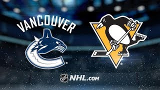 Vancouver Canucks vs Pittsburgh Penguins - Oct.16, 2018 | Game Highlights | NHL 2018/19 | ?????