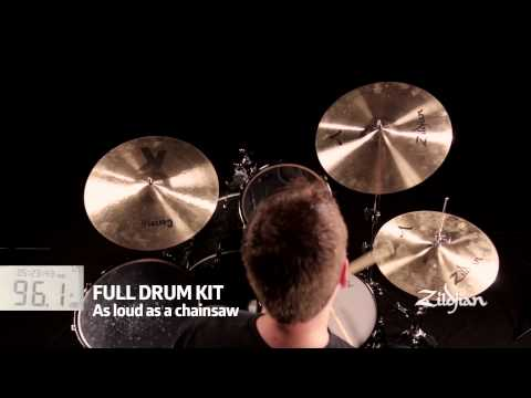 Zildjian L80 Low Volume Cymbal Set - 14/16/18 LV468 | Buy at Footesmusic
