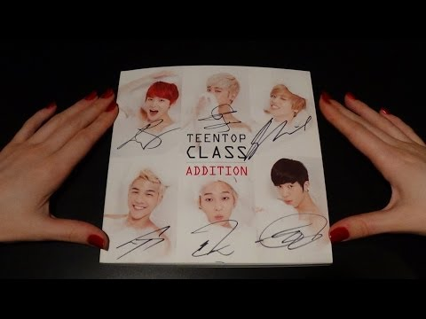 Unboxing Teen Top 틴탑 4th Korean Mini Album Repackage Teen Top Class Addition (Signed)