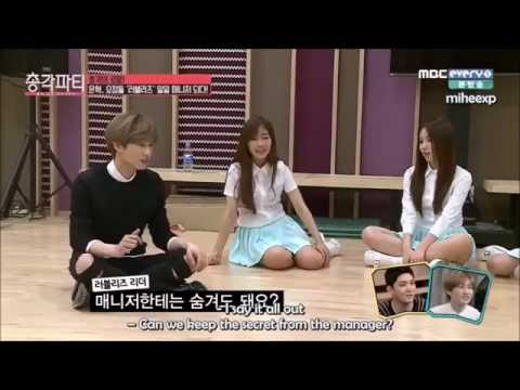 [ENG SUB] 150402 Bachelor Party - Eunhyuk as Lovelyz's Manager