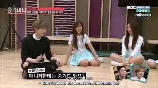 [ENG SUB] 150402 Bachelor Party - Eunhyuk as Lovelyz's Manager