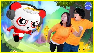 TAG WITH RYAN Challenge !! Let's Play BRAND NEW Ryan ToysReview Game on iPad