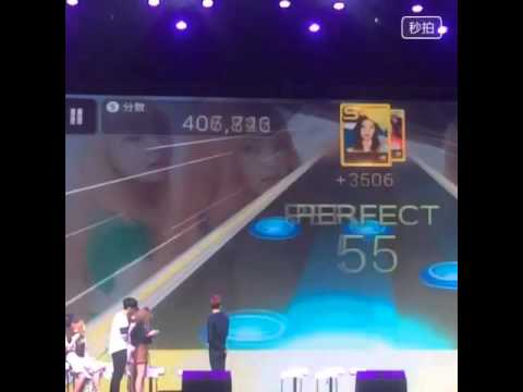 [Fancam] 150615 Irene - Playing Ice Cream Cake at SUPERSTAR SMTOWN Fanmeeting in Beijing