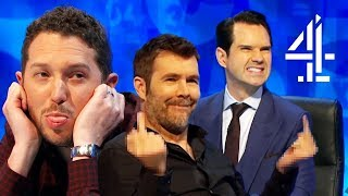 Guests FIRE BACK at Jimmy's Insults!! | 8 Out of 10 Cats Does Countdown | Best of Guests Pt.1