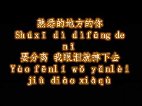 张震岳 再见 歌词+拼音