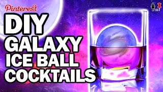 DIY GALAXY Ice Ball Cock Tails, Corinne VS Pin #29