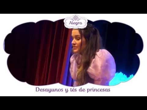 Alegra te invita a los desayunos y tés de princesas en Alparamis