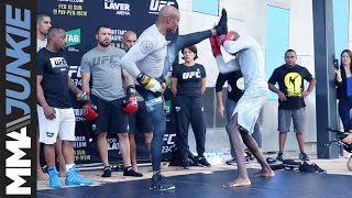 UFC 234: Anderson Silva full open workout