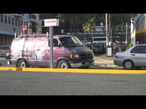 Puerto Rican party van