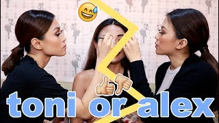TONI and ALEX GONZAGA Make Up Battle (LAPTRIP)